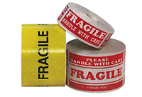 Fragile Labels Rolls