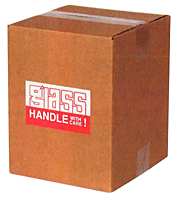 Handle with Care on a Box