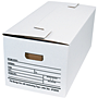 Interlocking Flap File Storage Boxes